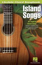 Island Songs Sheet Music Ukulele Chord Songbook Ukulele Book NEW 000702471
