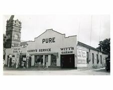 1941 Pure Oil Gas Station Photo Poster Greenwood SC Gas Globe zch2636