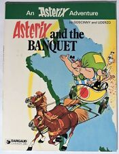 ESL1002. ASTERIX AND THE BANQUET by Goscinny and Uderzo TPB by Dargaud (1980) ;