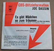 Joe Dassin, es gibt madchen so zum traumen / melanie, SP - 45 tours import Promo