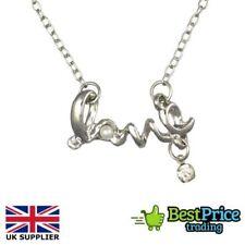 Alloy Love & Hearts Round Costume Necklaces & Pendants