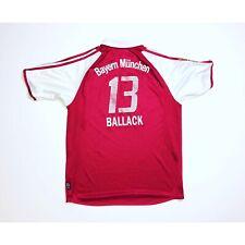 🔥Ballack #13🔥Vintage Bayern Munich 2005/2006 Home Football Shirt - Size XLB