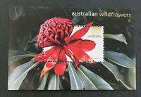 2006 $10 Ten Dollar Stamp 'Australian Wildflowers - Definitive Mini Sheet - MNH