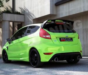 Auspuff Sportauspuff für Ford Fiesta 7 JA8 Mk7,5 ST RS Duplex Endschalldämpfer