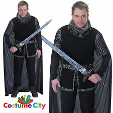 Adult Mens Sheriff of Nottingham Robin Hood Medieval Knight Fancy Dress Costume