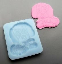 Sweet Puppy Dog Silicone Mold for Fondant, Gum Paste, Chocolate, Crafts NEW