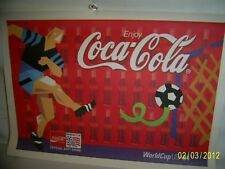 Coca Cola Paper Tray Liners from 1994 World Cup in Dallas, 20 pcs