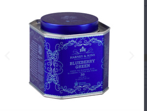HRP Harney & Sons BLUEBERRY GREEN 30 ct Gift Tin