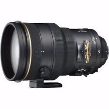 NEW Nikon AF-S NIKKOR 200mm f/2G ED VR II Lens w/ Don Zeck N10 Cap FINAL PRICE!