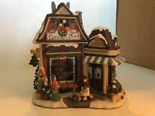 HOLIDAY HOME ACCENTS~CANTERBURY LANE~CHRISTMAS~FLOWER SHOP~EUC