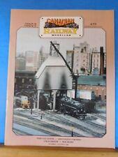 Canadian Railway Modeller Train 6 #5 1996 TH&B coal tower ASM Canadian car sides