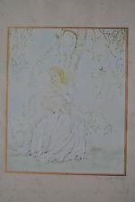 Original-Lithographien (1900-1949) mit Porträt- & Persönlichkeiten-Motiv