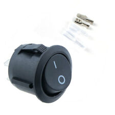 5pcs 12V On/Off ABS Round Rocker Switch + Cover Car Dash Boat Waterproof
