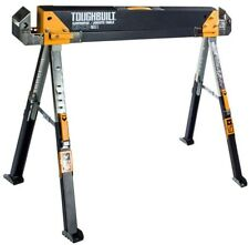TOUGHBUILT Sawhorse Jobsite Table Saw Horse Workshop Steel 1300 lb Capacity Work