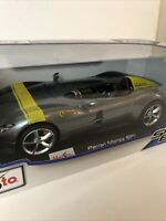 Ferrari Monza SP1 Diecast Car Model Collection Maisto 1:18 Scale New In Box
