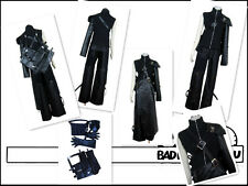 Final Fantasy 7 FF7 Cloud Cosplay Costume Armor & Gaine comprennent