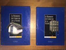 Le patrimoine des communes de la Vendée | 2 volumes | Flohic Éditions