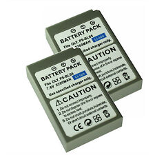 2PCs OLYMPUS BLS-50 BLS-5 Battery For BCS-5 EM10 MarkII EPL5 EPL7 Digital Camera
