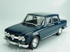 ALFA romeo giulia super 1.6 modèle de voiture à l'échelle 01:43 bleu 4 PORTES NOREV K8967Q
