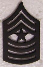Hat Lapel Push Tie Tac Pin Marine Corps Rank Insignia Sergeant Major E-9 NEW
