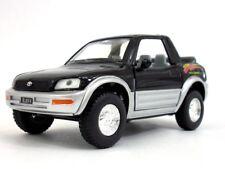 "New 5"" Kinsmart Toyota Rav4 Cabriolet Diecast Model Toy Car Concept 1:32 Black"