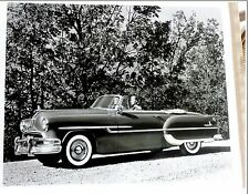 photo originale 1952 PONTIAC CONVERTIBLE VOITURE AMERICAINE 1950´s car CABRIOLET