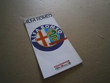 Catalogue pub auto prospectus Alfa Romeo Accessoires