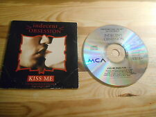 CD Pop Indecent Obsession - Kiss Me (1 Song) Promo MCA REC cb