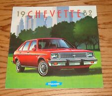Original 1982 Chevrolet Chevette Sales Brochure 82 Chevy