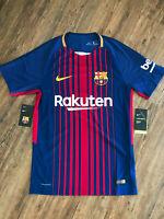 Nike FC Barcelona Fussball Trikot   Neu   AEROSWIFT   Blau/Rot   Größe S
