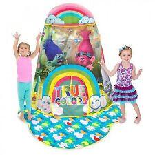 Play Hut Trolls True Colors Star Stage Kids Tent Slightly Damaged Retail Box