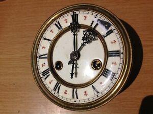 HAC Vienna Clock Movement  & Face  Dial 145mm Diameter Clockmakers Spares