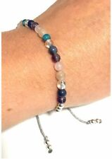 Reiki Yoga Bracelet -Adjustable Just Gemstones Weight Loss Support