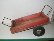 Remorque de tracteur en bois fabrication DEJOU  France