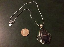 Turtella silver pendant with a 925 silver snake chain approx 16inches long