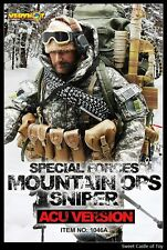 1/6 Very Hot Military Set US Navy Seal Mountain OPS Sniper ACU For Dam HT Body