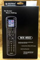 NEW URC Universal Remote MX450 Multibrand Remote w/ One-Touch Operation MX-450