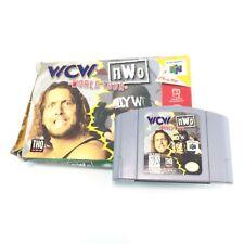 WCW Vs. NWO World Tour (Nintendo 64, N64) 100% Authentic. With box