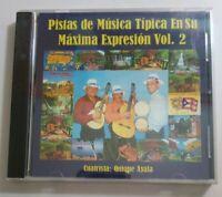 Pistas De Musica Tipica En Su Maxima Expression V 2 Quique Ayala Sealed CD #115