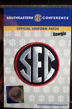 Official Licensed NCAA College Football Georgia SEC Conference Patch
