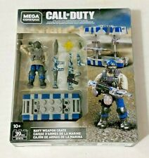 CALL OF DUTY NAVY WEAPON CRATE 39PCS GFW76 - MEGA CONSTRUX  X49/3