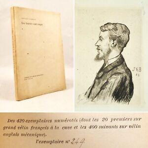 🌓 EO Edouard DUJARDIN Les lauriers sont coupés 1888 Jacques-Émile Blanche Joyce