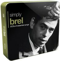 Jacques Brel - Simply Brel [New CD] UK - Import