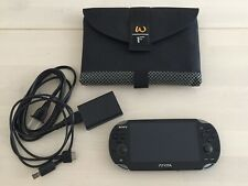 Sony PlayStation PS Vita OLED 3G WiFi Handheld Gaming System Console Bundle 1101