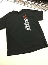 Larry Dixon NitroX2 Two-Seater T-Shirt Not NHRA Drag Racing OFFICIAL MENS LG