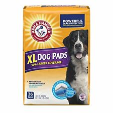 Arm & Hammer Large Pet Training and Puppy Pads 22.5-inch by 30-inch 36-Count