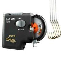 SANXIN Elektrischer Angelhaken Tier Metall ABS Automat für Fisch-Haken-Lini J5T8