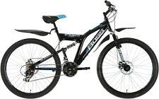Boss Stealth 26 Inch Steel FS Rear Suspension Mountain Bike - Mens.
