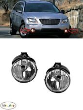 FOR CHRYSLER PACIFICA 2003 - 2006 2X NEW FRONT FOG LIGHT LAMPS PAIR LEFT + RIGHT