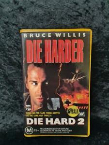 CBS Fox Ex-Rental Video Vhs PAL Die Hard 2 Die Harder Bruce Willis CLAMSHELL